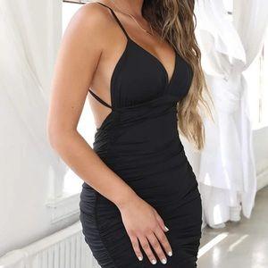 🌹 Sexy Backless bodycon Spaghetti Strap  Dress